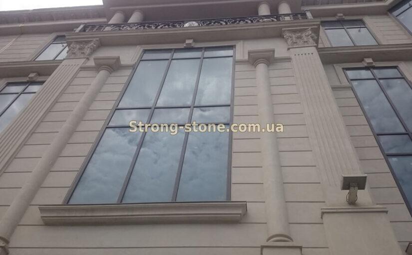 Камень известняк в ландшафтном дизайне Киева